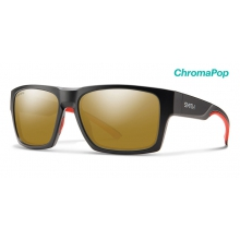 Outlier XL 2 Matte Gravy ChromaPop Bronze Mirror by Smith Optics in Golden Co