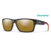 Outlier 2 Matte Gravy ChromaPop Bronze Mirror by Smith Optics in Marina Ca