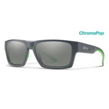 Outlier 2 Matte Cement ChromaPop Platinum by Smith Optics in Chino Ca