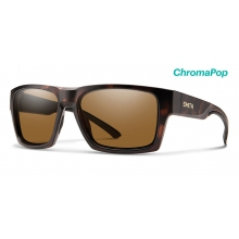 Outlier XL 2 Matte Tortoise ChromaPop Polarized Brown by Smith Optics in Salmon Arm Bc