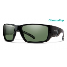 Transfer XL Black ChromaPop Polarized Gray Green by Smith Optics