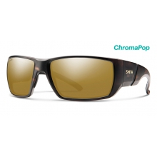 Transfer XL Matte Tortoise ChromaPop Polarized Bronze Mirror by Smith Optics