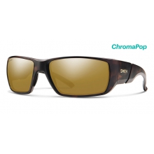 Transfer Matte Tortoise ChromaPop Polarized Bronze Mirror by Smith Optics