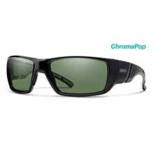 Transfer Black ChromaPop Polarized Gray Green by Smith Optics
