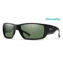 Transfer Matte Black ChromaPop Polarized Gray Green by Smith Optics