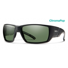 Transfer XL Matte Black ChromaPop Polarized Gray Green by Smith Optics in Victoria Bc