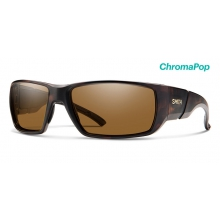 Transfer Matte Tortoise ChromaPop Polarized Brown by Smith Optics