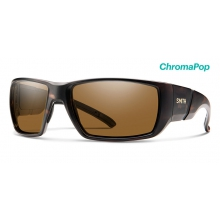 Transfer XL Matte Tortoise ChromaPop Polarized Brown by Smith Optics