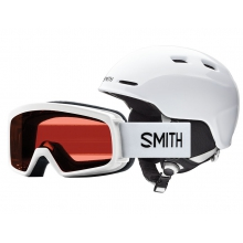 Rascal-Zoom Combo White Youth Small (48-53 cm) by Smith Optics