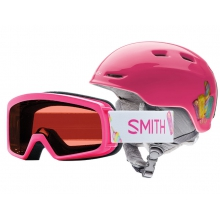 Rascal-Zoom Combo Pink Popsicles Youth Small (48-53 cm) by Smith Optics