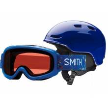 Gambler-Zoom Combo Cobalt Youth Medium (53-58 cm) by Smith Optics