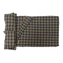 Autana/Kukenam 4 Plaid Blue - Green Flannel Fitted Sheets