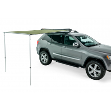 6' Awning - Olive Green Canvas / Black Cover
