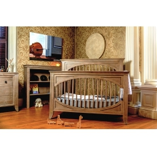 Cameo Oval Convertible Crib by Milk Street Baby
