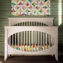 Cameo Oval Convertible Crib by Milk Street Baby in Ashburn Va