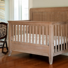 Cameo Sleigh Convertible Crib by Milk Street Baby