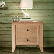 Cameo 2 Drawer Nightstand by Milk Street Baby