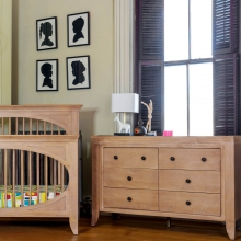 Cameo 6 Drawer Double Dresser by Milk Street Baby