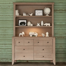 Cameo Hutch/Bookcase by Milk Street Baby