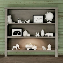 Relic Hutch/Bookcase by Milk Street Baby