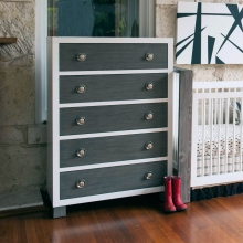 True 5 Drawer Dresser by Milk Street Baby