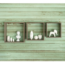 True Box Shelves (set of three) by Milk Street Baby