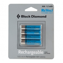 AAA Rechargeable Battery 4 Pack by Black Diamond