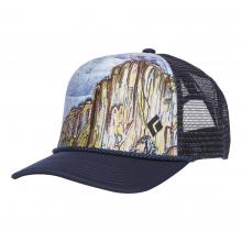 Flat Bill Trucker Hat by Black Diamond