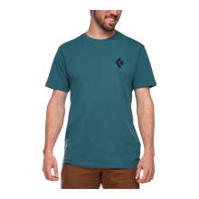 Men's Short Sleeve Equipmnt For Alpinist Tee by Black Diamond