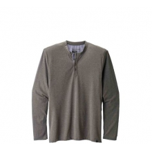 Men's LS Attitude Henley by Black Diamond