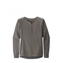 Women's LS Attitude Henley by Black Diamond