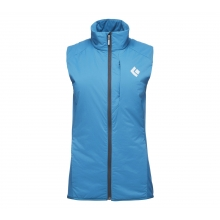 W First Light Hybrid Vest by Black Diamond in Rocky View No 44 Ab