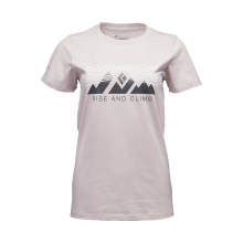 Women's SS Rise And Climb Tee by Black Diamond
