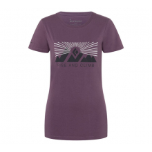 Women's Ss Rise And Climb Tee by Black Diamond in Loveland CO