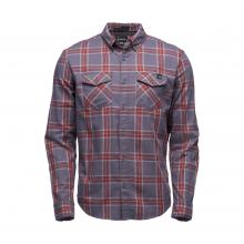 Men's Ls Benchmark Shirt by Black Diamond in Red Deer County Ab