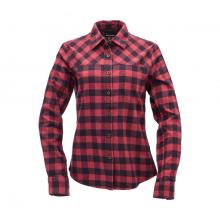 Women's Spotter Ls Flannel Shirt by Black Diamond