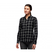 Women's Serenity Ls Flannel Shirt by Black Diamond in Loveland CO