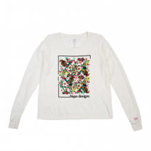 Floral Tee L/S - Women's by Topo Designs