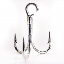3X Strong Treble Hook by Mustad