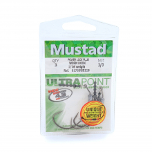Power Lock Plus Hook - Straight Keeper by Mustad