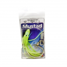 Halibut Rig with Hoochie by Mustad