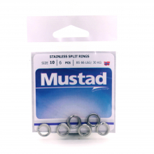 Stainless Split Rings by Mustad