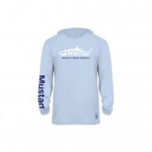 Blue Tarpon Long Sleeve Shirt by Mustad