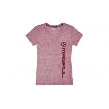Megablend Women's V-Neck Vert Logo T-Shirt