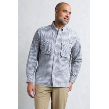 Men's Air Strip Micro Plaid L/S by ExOfficio in Miami Fl