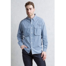 Men's Air Strip Micro Plaid L/S by ExOfficio in Peninsula Oh