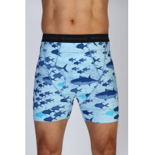Men's Give-N-Go Printed Boxer Brief by ExOfficio in Lafayette La