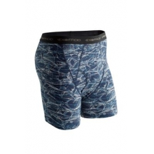 Men's Give-N-Go Printed Boxer Brief by ExOfficio in Mountain View Ca