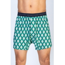 Men's Give-N-Go Printed Boxer by ExOfficio in Edwards Co