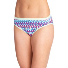 Women's Give-N-Go Printed Bikini Brief